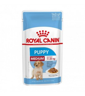 Royal Canin Size Health Nutrition Wet Medium Puppy 140 g. SEC01025