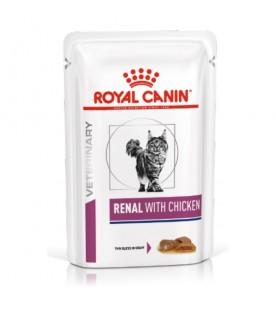 Royal Canin Veterinary Diet Cat Renal Chicken 85 g. SEC01031