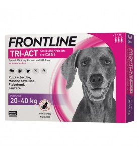 Frontline TRI-ACT Cane 20-40 kg 3 Pipette SEC00797