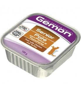 Gemon Cat Paté con Pollo e Tacchino - Senior 100 g. SEC01093