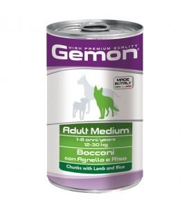 Gemon Dog Bocconi Agnello e Riso 1250 g. SEC01089