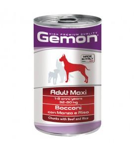 Gemon Dog Bocconi Manzo e Riso 1250 g. SEC01087
