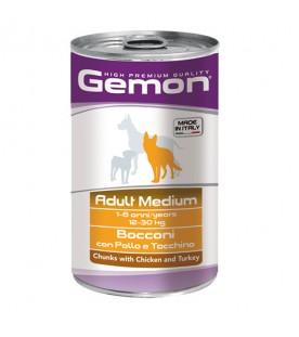 Gemon Dog Bocconi Pollo e Tacchino 1250 g. SEC01088