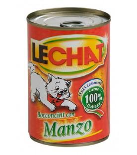 LeChat Cat Bocconcini con Manzo 400 g. SEC01121