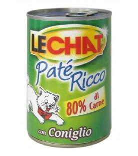 LeChat Cat Patè Ricco con Coniglio 400 g. SEC01125