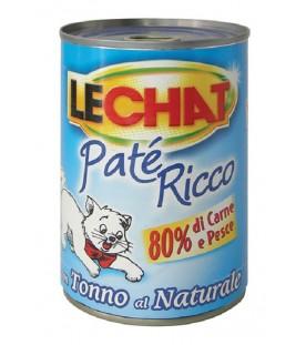 LeChat Cat Patè Ricco con Tonno al Naturale 400 g. SEC01129