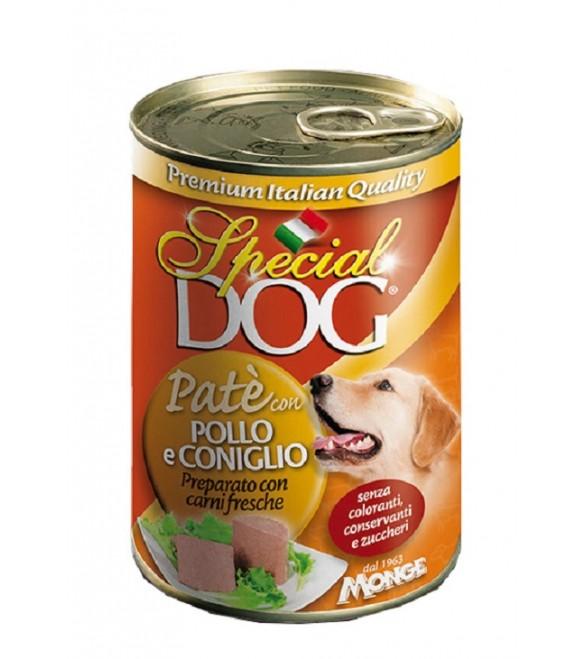 Special Dog Patè con Pollo e Coniglio 400 g. SEC01133