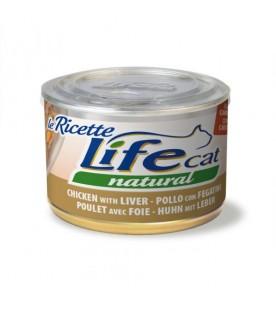 Life Cat Le Ricette Pollo con Fegatini 150 g. SEC01174