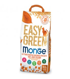 Monge Easy Green Mais Lettiera Vegetale 10 lt - 3,8 kg SEC01194