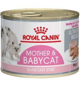 Royal Canin Feline Health Nutrition Wet Mother & Babycat 195 g. SEC01197