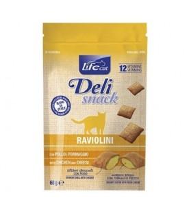 Life Cat Delisnack Raviolini con Pollo e Formaggio 60 g. SEC01207