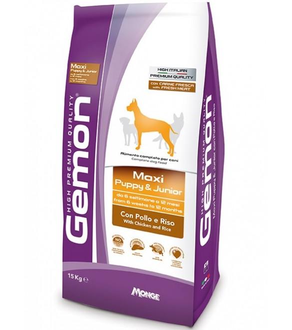 Gemon Cane Maxi Puppy & Junior Pollo & Riso 3 kg SEC01260