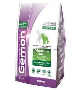 Gemon Cane Medium Adult Agnello & Riso 3 kg SEC01262