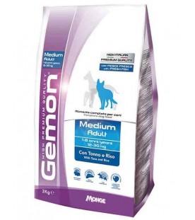 Gemon Cane Medium Adult Tonno & Riso 3 kg SEC01261