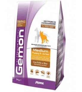 Gemon Cane Medium Puppy & Junior Pollo & Riso 3 kg SEC01258