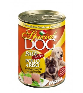 Special Dog Patè Junior con Pollo & Riso 400 g. SEC01252