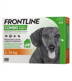 Frontline Combo Cani 2-10 Kg 3 Pipette SEC01273