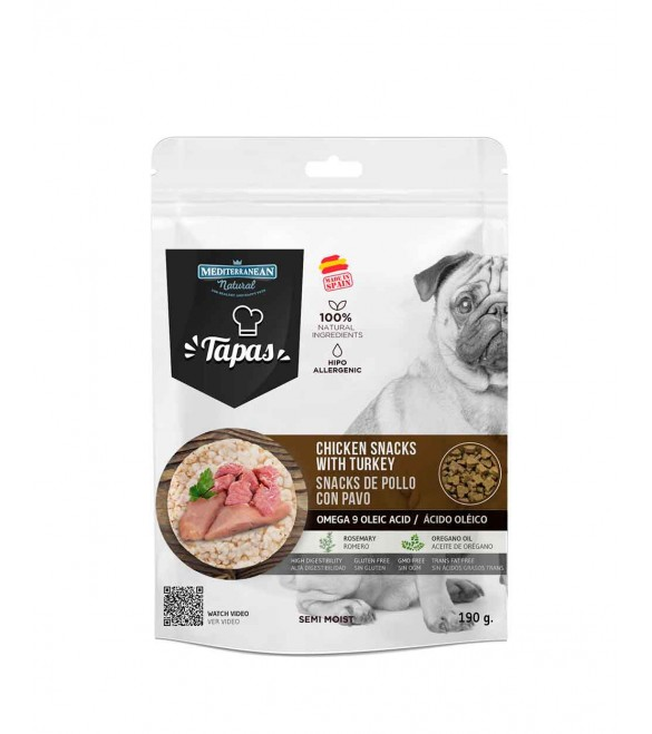Tapas Gourmet Chicken and Turkey 190 g. SEC01532