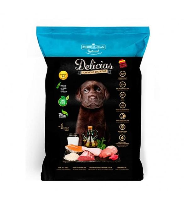 Delicias Alimento Completo Semi Umido Puppy 800 g. SEC01535