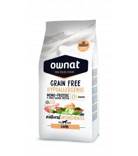 Ownat Grain Free Hypoallergenic Dog Lamb 3 kg SEC00519