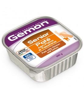 Gemon Dog Adult Paté con Pollo e Tacchino – Senior 300 g. SEC01583