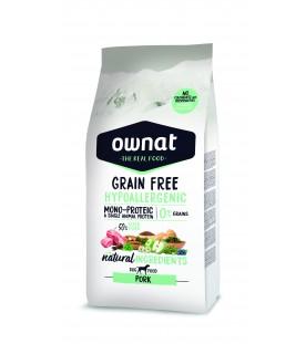 Ownat Grain Free Hypoallergenic Dog Pork 3 kg SEC00517