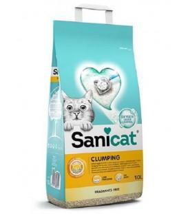 Sanicat Clumping Unscented 10 lt SEC01594