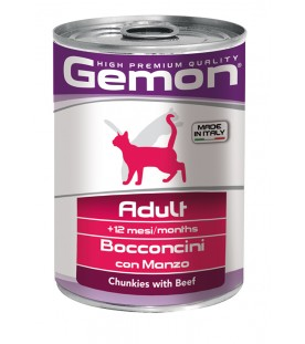 Gemon Cat Bocconcini Adult Manzo 415 g. SEC00558
