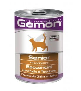 Gemon Cat Bocconcini Senior Pollo e Tacchino 415 g. SEC00560