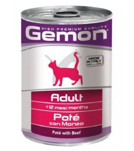 Gemon Cat Patè Adult Manzo 400 g. SEC00557