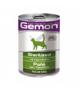 Gemon Cat Patè Sterilized Tacchino 400 g. SEC00556