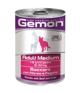 Gemon Dog Bocconi Adult Manzo e Fegato 415 g. SEC00552
