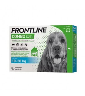 Frontline Combo Cani 10-20 Kg 3 Pipette SEC00645