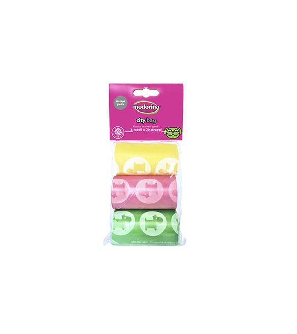 Sacchetti di Ricambio Colorati 6 x 20 Sacchetti City Bag SEC00803
