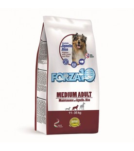 Forza10 Maintenance Medium Adult con Agnello e Riso 12,5 kg SEC00809