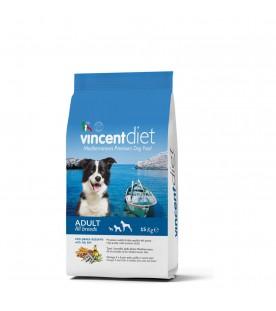 Crocchette per Cani Vincent Diet al Pesce Azzurro 15 kg SEC00024