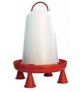Abbeveratoio in Plastica con Manico lt. 10 con Piedini - Art. 161 SL SEC00134