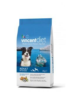 Crocchette per Cani Vincent Diet al Pesce Azzurro 3 kg SEC00025