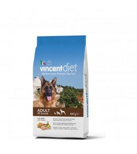 Crocchette per Cani Vincent Diet al Pollo 15 kg SEC00020