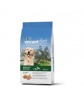 Crocchette per Cani Vincent Diet all'Agnello 15 kg SEC00022