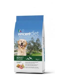 Crocchette per Cani Vincent Diet all'Agnello 3 kg SEC00023