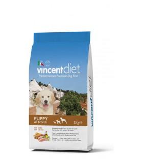 Crocchette per Cani Vincent Diet Puppy al Pollo 3 kg SEC00026