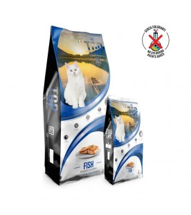 Crocchette Top Premium Food Cat Fish 20 kg SEC00356
