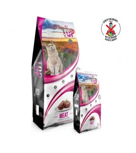 Crocchette Top Premium Food Cat Meat 3 kg SEC00028