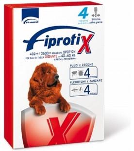 Fipratix per Cani di Taglia Gigante da 40 a 60 kg 4 Pipette SEC00590