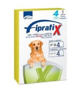 Fipratix per Cani di Taglia Grande da 20 a 40 kg 4 Pipette SEC00589