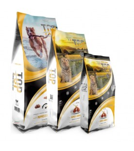 Crocchette Top Premium Food Dogs Puppies e Juniors 20 kg SEC00452