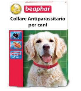 Beaphar Collare Antiparassitario Rosso Cane 65 Cm SEC00656