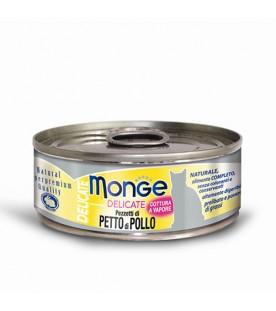 Monge Delicate Cat Petto di Pollo 80 g. SEC00867