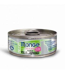 Monge Delicate Cat Pollo con Asparagi 80 g. SEC00871